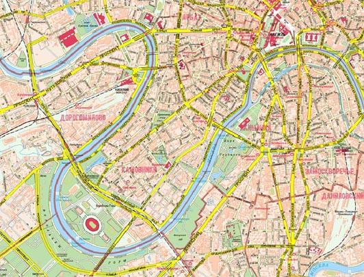 Это русло Москвы-реки (рис.17)